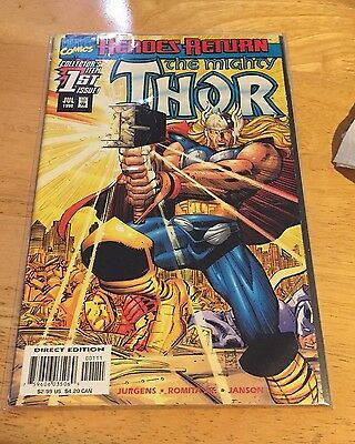 The Mighty Thor #1 Marvel Comics Thor VF+/NM 1998 Heroes Return