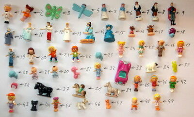 Polly Pocket Figures (YOU CHOOSE as many & pay postage once ) Dolls GOOD cond