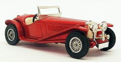 Matchbox Models Of Yesteryear Y-3 - 1934 Riley MPH - Metallic Red