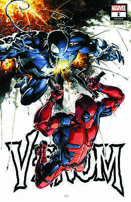 Venom 1 Marvel 2018 Clayton Crain Variant Deadpool Donny Cates Ryan Stegman