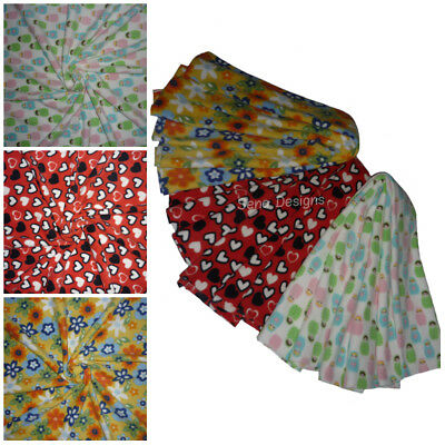 Polar Fleece Anti Pill Fabric Premium Quality Soft Material Cute Print Fabric