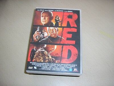 "DVD,""RED"",bruce willis,morgan freeman,john malkocivh,helen mirren"