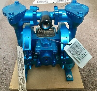 Unused Warren Rupp Sandpiper Model EB 1/2-A Type TGR-2-S Double Diaphragm Pump