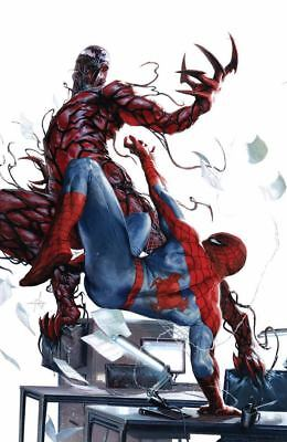 Spectactular Spider-Man 300 Gabriele Dell'Otto Virgin Variant Carnage