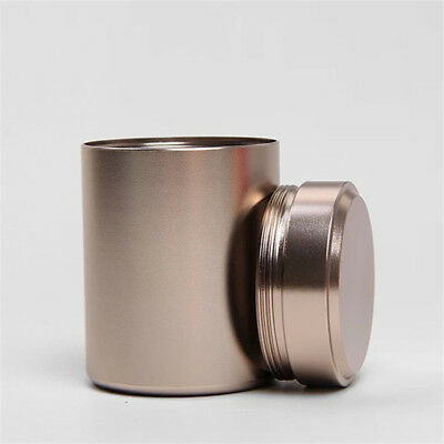 Airtight Smell Proof Container-New Aluminum Herb-Stash-Jar