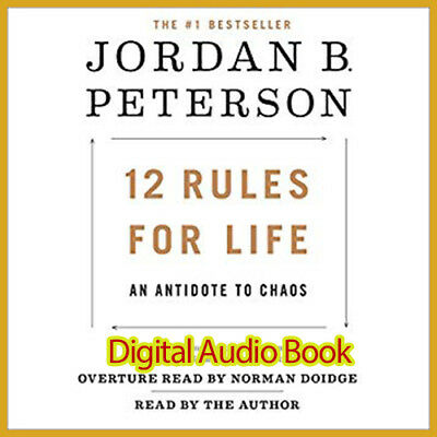 12 Rules for life An Antidote to Chaos By Jordan B. Peterson (AUDIOBOOK)