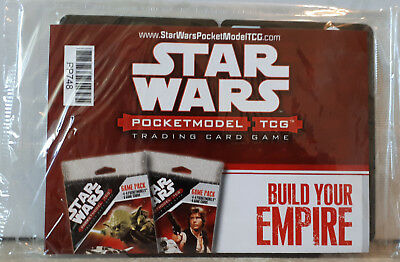 Star Wars Celebration IV PocketModel Trading Card Game Promo Sample Pack 2007
