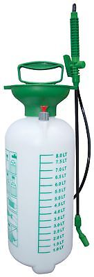 Pressure Sprayer 8Litre Garden Spray Water Spraying Pump Nozzle Weed Killer LTR
