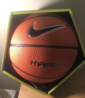 NIKE 2017 Hyper Elite NFHS Basketball Ball Brown/Black BB0573-801 Size 7