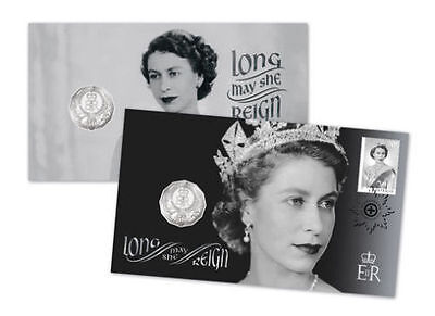 Australia 2015 LONG MAY SHE REIGN PNC FDC Coin Limited Edition,UNC,RARE+Low-Mint