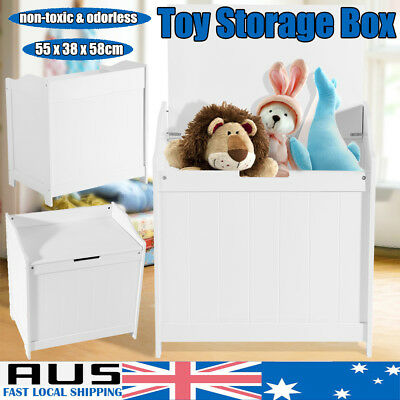 AU SHIP Kids Toy Box Chest Storage Cabinet Containers Children Clothes Organizer