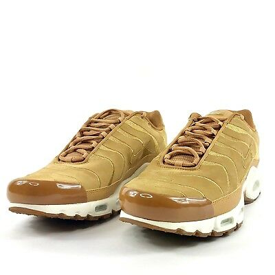 buy online fefe1 8d062 Nike Air Max Plus EF TN Tuned Running Shoes Wheat Flax Suede AH9697 201 Sz  12