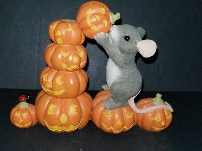 Vintage, Fitz and Floyd Charming Tails stacking Pumpkins  EXCELLENT CONDITION