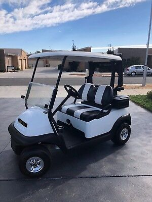 2015/2016 White Club Car Precedent 48V Electric Golf Cart Buggy