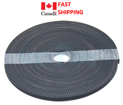 1 foot GT2 Rubber Timing Belt 3D Printer Synchronous Anet A8 Reparap prusa i3 ..