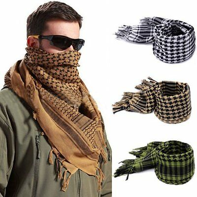 Shemagh Tactical Scarf Head Wrap Arab KeffIyeh Shawl Long Hunting Army Military