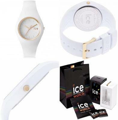 Ice-Watch - ICE glam White Montre blanche pour femme avec bracelet en  silicone 741bf108b0a6