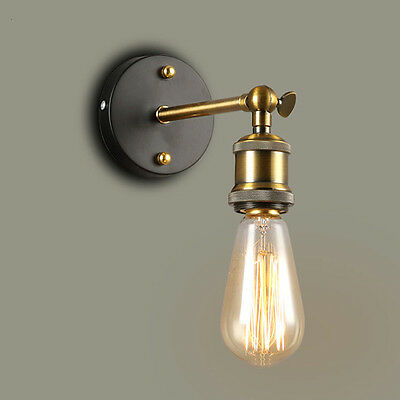 Modern Vintage Retro Industrial Rustic Sconce Wall Light Lamp Fitting Fixture