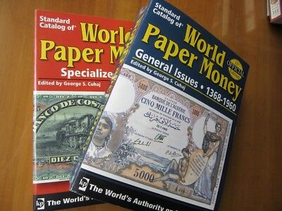 Standard Catalog of World Paper Money Vol 1 - General Issues Vol 2 - Specialized