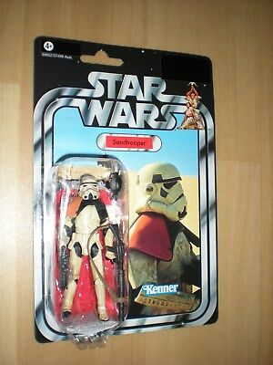 + STAR WARS VINTAGE COLLECTION - SANDTROOPER  Figur von HASBRO +