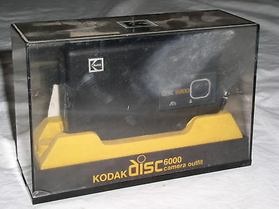 1980s Vintage Kodak Disc 6000 Camera in Original Retail Display