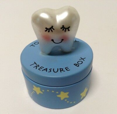"GANZ Tooth Fairy Treasure Box Adorable 2""T Unisex"