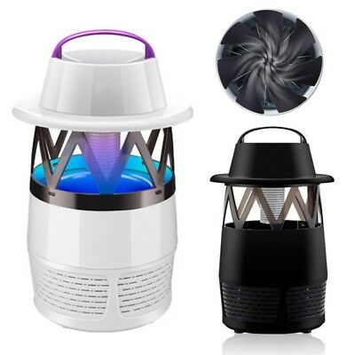 Electric Mosquito Insect Killer Lamp UV LED Fly Zapper Indoor Night Light USB Si