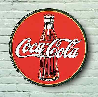 Large 2Ft Coca Cola Logo Sign Retro Style Picture Bar Pub Cafe Usa Catering Logo