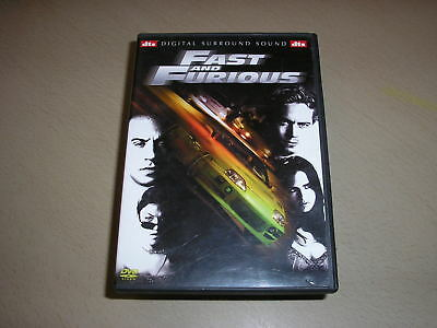 "DVD,""FAST AND FURIOUS 1"",vin diesel"