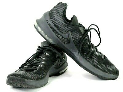 hot sale online 86bb3 d283b Nike AirMax Infuriate Low Black Men Basketball Shoes Sneakers Size 14 852457 -001