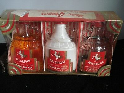 Vintage-Rare Old Stock- Mac Gregor...Men's Hair Tonic, Cologne, & Shave Lotion