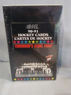 ontario hockey league collectors cards 1991