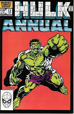 The Incredible Hulk Comic Book Annual #12 Marvel 1983 FINE+