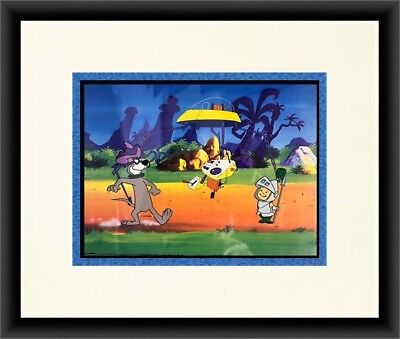 Original Hanna Barbera The Jetsons Hand Painted Animation Production Cel FRAMED