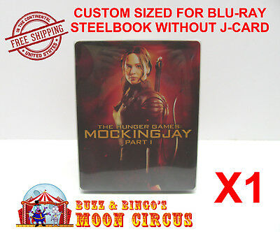 1x BLU-RAY STEELBOOK CLEAR PROTECTIVE SLEEVE - BOX PROTECTORS - NO J-CARD SIZE