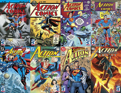SET: Action Comics #1000 Decade Set 1930 1940 1950 1960 1970 1980 1990 2000 DC