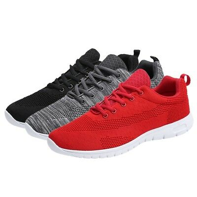 Men Sports Sneakers Casual Trainers Running Flats Summer Athletic Shoes Lace Up