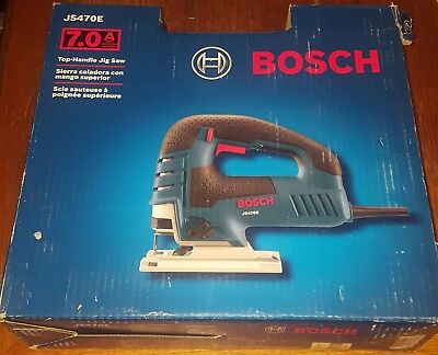 Bosch JS470E Corded 7.0Amp Top-Handle Jig Saw Kit NEW IN BOX!!!