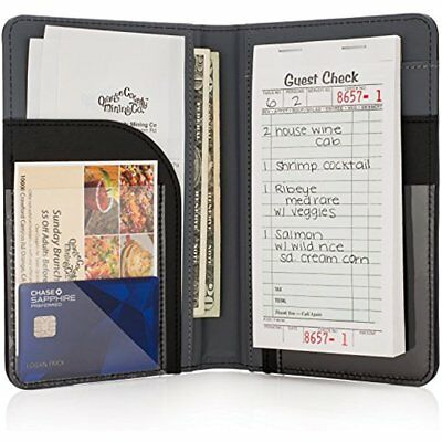 Premium Server Book & Waiter Organizer - Strongest Thickest Holds Guest Checks