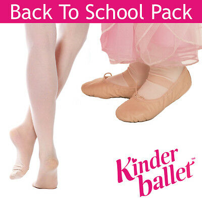 Back To School Pack - Premium Ballet Shoes and Ballet Tights - Ballet Gear - New