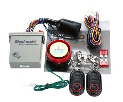 Remote Engine Start Stop Motorcycle Alarm System Security Useful Biker Gift Idea