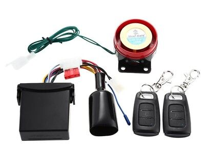 Remote Arming Locating Motorcycle Alarm System Security Useful Biker Gift Idea