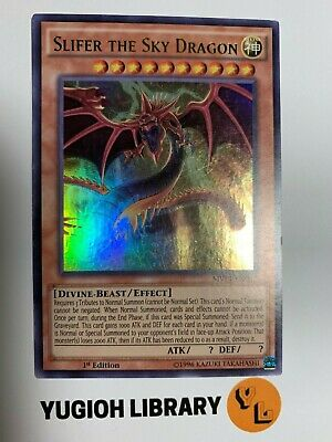 Yugioh - Slifer the Sky Dragon - ULTRA RARE - MVP1-EN057 - 1st EDITION MINT