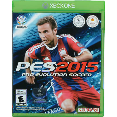 Xbox One-Pro Evolution Soccer 2015 Day 1 Edition (PES) Xbox One  GAME NEW SEALED