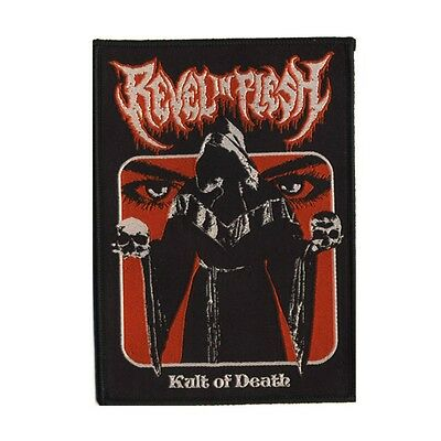 REVEL IN FLESH - Kult Of Death - Aufnäher / Patch - Neu - #6360