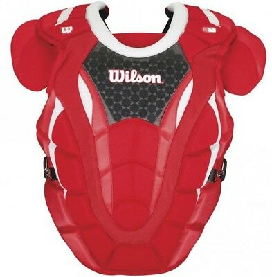 Wilson Pro Motion Chest Protector - scarlet