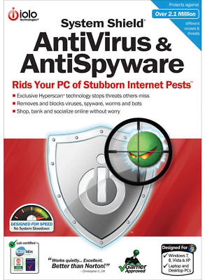 IOLO System Shield AntiVirus and Anti Spyware (6 PC - 1 Year) (eDelivery)