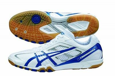 ASICS Japan Men's Attack EXCOUNTER Table Tennis Shoes TPA327 White Ping Pong