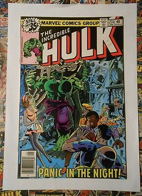 Incredible Hulk #231 - Jan 1979 - The Corporation Appearance! - Vfn- (7.5) Cents