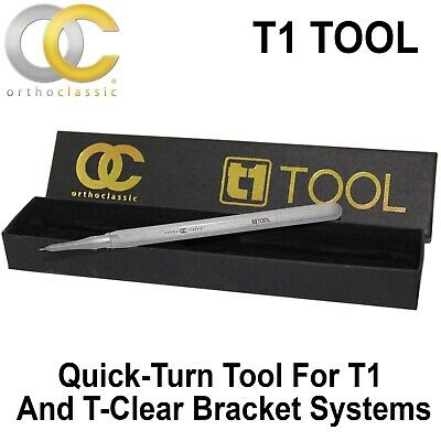 Dental Orthodontic Orthoclassic Quick Turn Tool T1 And T-Clear Brackets Braces